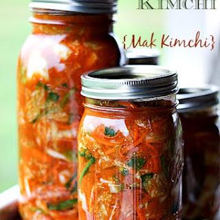 Easy, Fast Kimchi {Mak Kimchi}