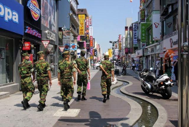 pohang army