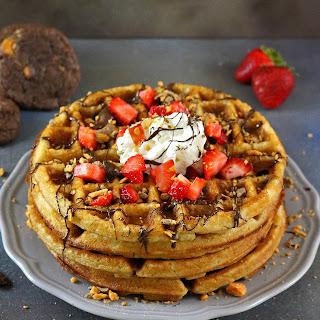Indulgent Weekend Waffles.