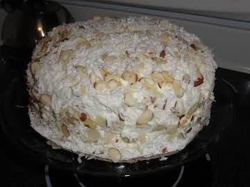 Toasted Almond Cake
