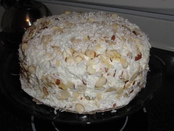 Toasted Almond Cake Recipe