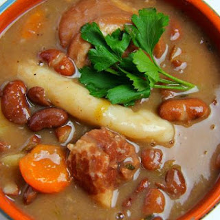 Caribbean Red Peas Soup..