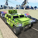Armored President Protocol: Police Helicopter Sim icon