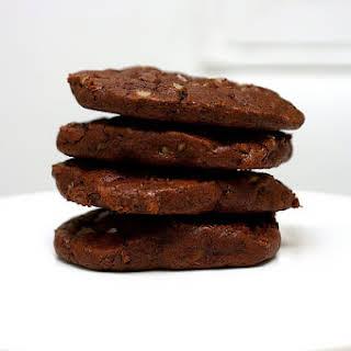 Chocolate Toffee Cookies.