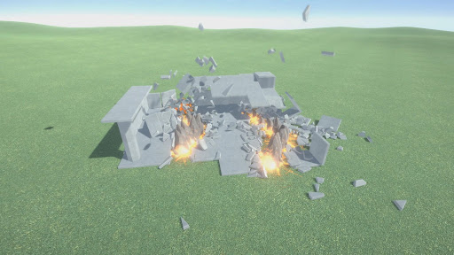 Destruction physics: building demolition sandbox filehippodl screenshot 4
