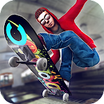 Subway Skateboard Ride Tricks