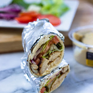 Healthy Hummus Chicken Wrap Recipes