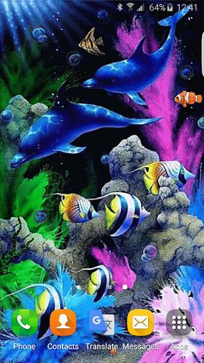 水族館アニメ壁紙