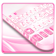 Download Pastel Pink Heart Keyboard Theme For PC Windows and Mac