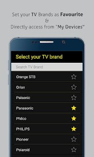 Universal TV Remote Control Screenshot