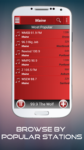 android A2Z Maine FM Radio Screenshot 1