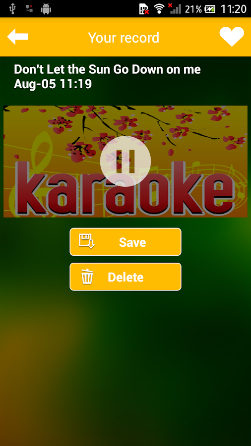 Karaoke Sing - Record- screenshot