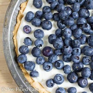 Lemon Ricotta Pie – Low Carb, Gluten Free, Keto, THM S.