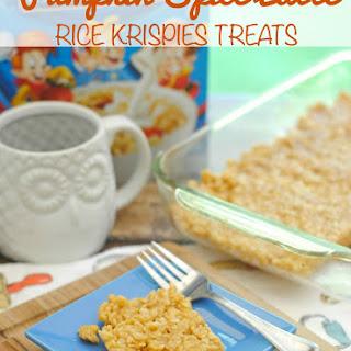 Pumpkin Spice Latte Rice Krispie Treats