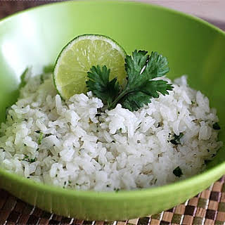 Cilantro Lime Rice.