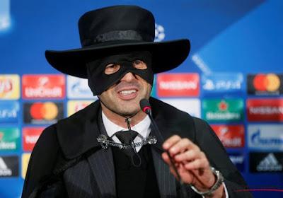 Throwback Thursday: Hopelijk heeft Roma-trainer Paulo Fonseca zijn zorropak niet naar Gent meegenomen