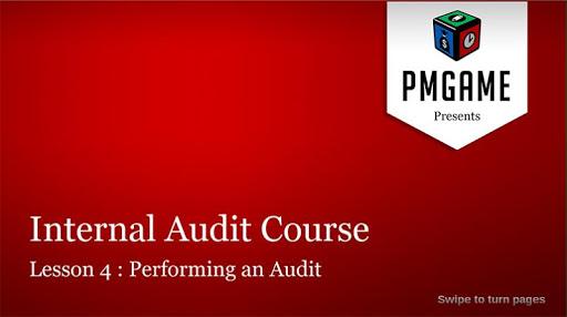 Internal Audit Course Lesson 4