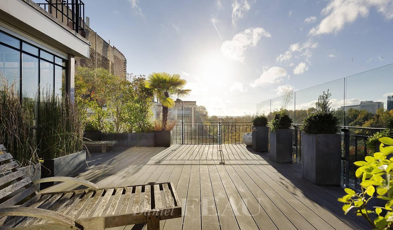 Maison avec jardin et terrasse Neuilly-sur-Seine