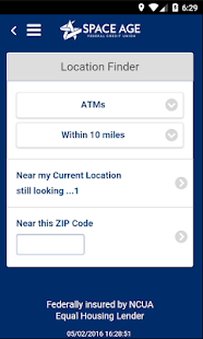 Space Age FCU Mobile Banking- screenshot thumbnail