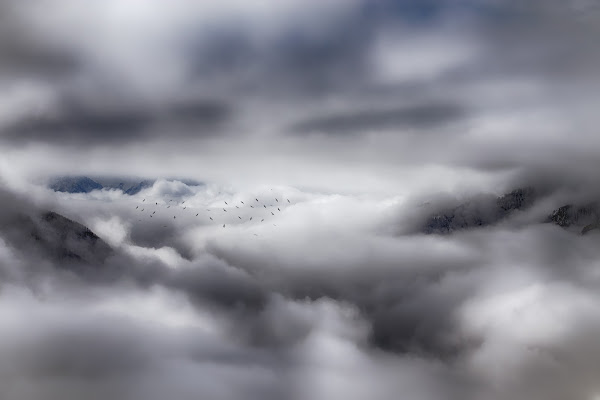 Spiragli di luce tra le nuvole di -JOKER-
