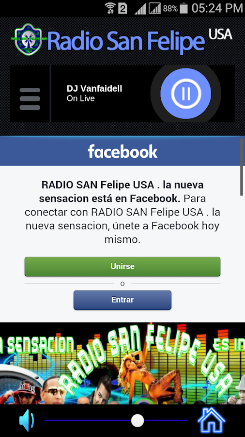 Radio San Felipe USA- screenshot