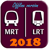 Singapore Subway MRT Map 2018 (DTL3)