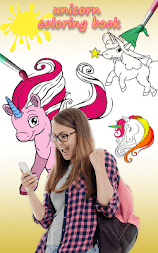 Unicorn Coloring Pages – Pony Coloring Book APK screenshot thumbnail 1