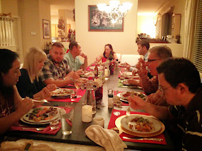 Photo: Family at Christmas Eve Dinner