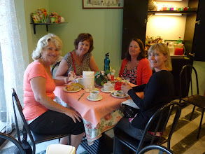 Photo: 4 ladies from California. Rented a car touring Tuscany