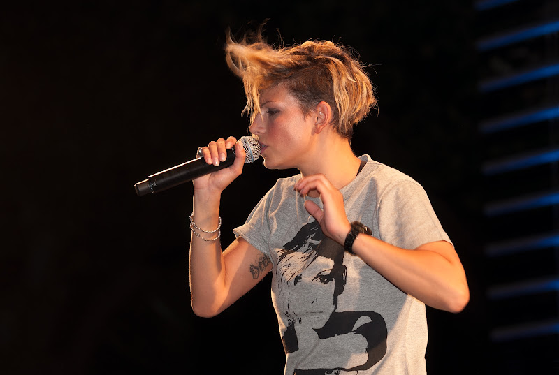 Emma Marrone in tour di Giancarlo Lava