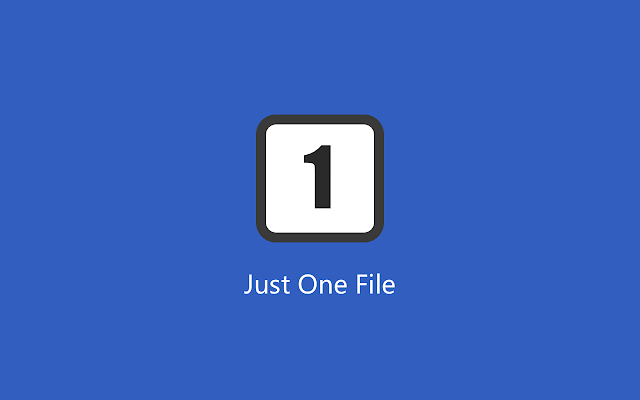 Just One File