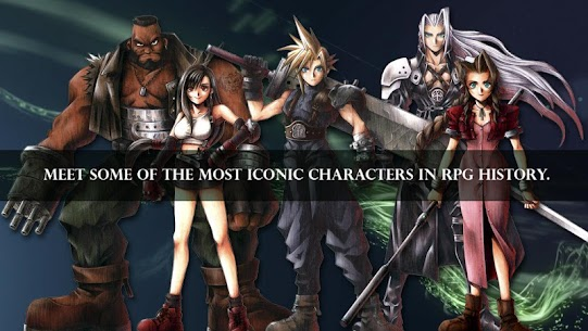 FINAL FANTASY VII MOD Apk 1.0.29 (Unlocked) 3