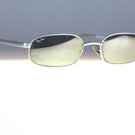 Ray Bans Gunmetal by Cal Brown - Artistic Objects Other Objects ( ray bans, other object, b&l, artistic object, sunglasses )