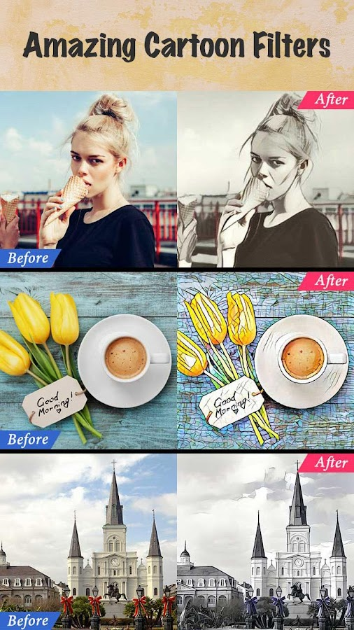 Cartoon Photo Filters-CoolArt- screenshot