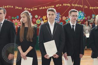 Photo: Laureaci Wojewódzkich Konkursów Przedmiotowych - M. Jurewicz 2a geografia