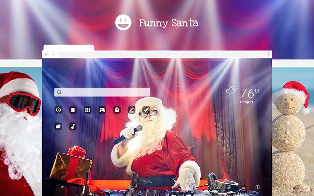 Funny Santa Claus - Christmas HD Wallpapers