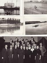 Photo: Øverste billeder: 1950-erne. Nederste billede 1954 fra overrækkelse af idrætspris Fyns Tidende