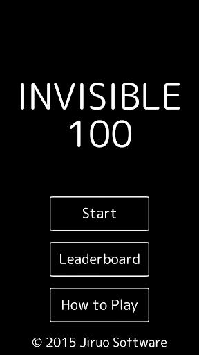 INVISIBLE 100