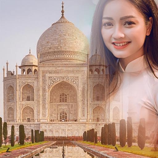 Taj Mahal Photo Frames: Editor & Wallpaper Maker Icon