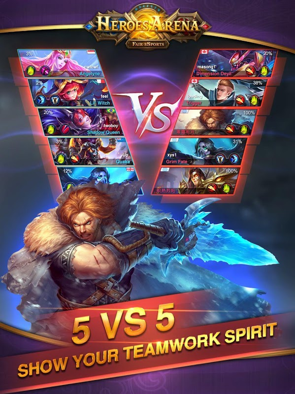 Download Heroes Arena Apk Mod Apk Obb Data 2 1 21 By Ucool