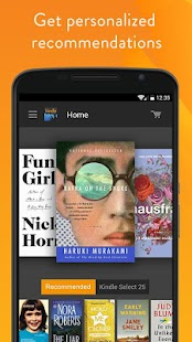 Amazon Kindle- screenshot thumbnail