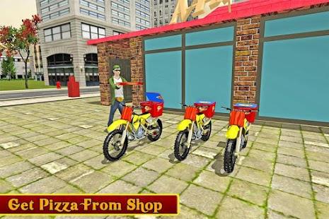 moto pizza dodávka - náhled
