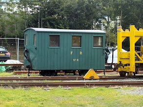 Photo: 020 And sometimes even more basically! Here is Ffestiniog heritage brake van number 6, a super subject for modelling! Hand me my Peco wagon chassis and sheet of planked Evergreen plastikard .