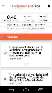 Engagement Labs- screenshot thumbnail