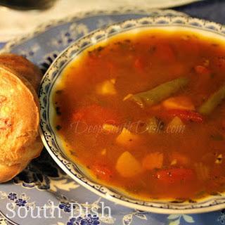 Homemade Garden Vegetable Soup