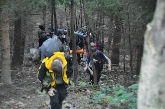 Photo: 2. den (čtvrtek 6. září 2012). Výstup na Lysou horu a základy horolezectví.