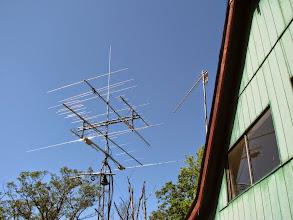 Photo: N3IQ mtn house  V/UHF and microwave antennas
