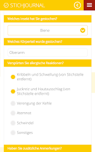 Stichalarm Screenshot