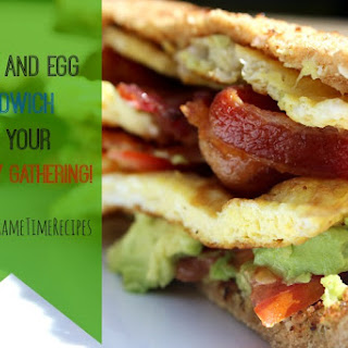 Bacon and Egg Sandwich!.