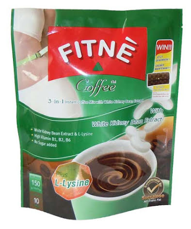 Fitne Coffee w/Kidney Bean 150 g